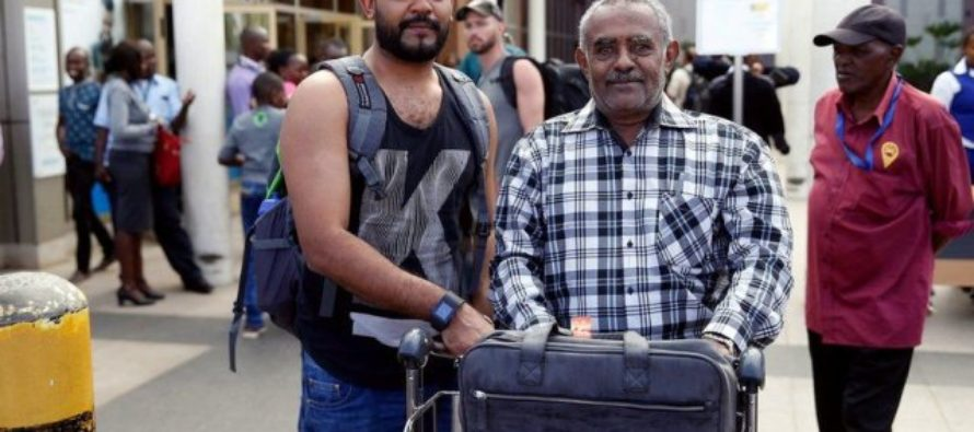 These two men missed Ethiopian airline that crashed