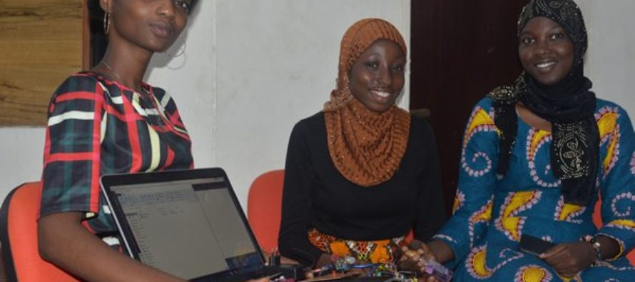 KNUST students develop gas leakage detector that operates SMS alert