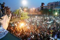 Crowds surge towards Sudan defence ministry