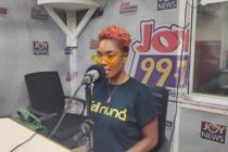 I regret walking off stage after getting hit with sachet water – Feli Nuna
