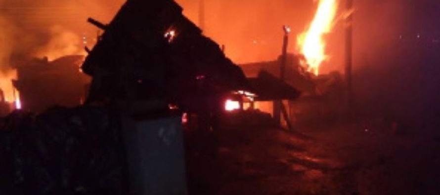 Fire destroys property at Kumasi central market on Good Friday