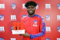 Thomas Partey wins Atletico Madrid player of the month of March [VIDEO]