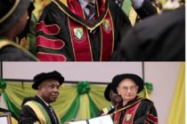 Ho: UHAS confers doctorate degree on Prof. Molyneux