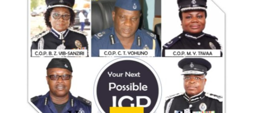 Who will be Ghana's next possible IGP? Find out here