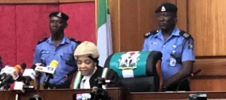 Nigeria's 2019 poll petition: Female judge leads judicial panel