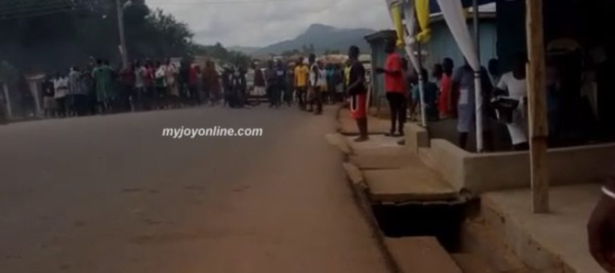 Boy shot dead as Odumase protest against PDS turns bloody