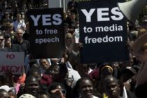 More than 2,000 gather for World Press Freedom Day