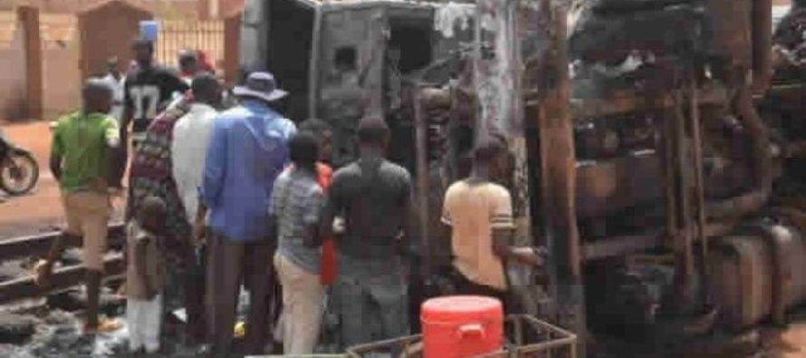 Tanker truck explosion in Niger kills 55, injures 36 others