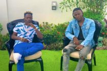 Shatta Wale posts photo with 'brother' Stonebwoy in reunion after VGMA ban