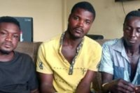 E/R: 3 arrested for robbing fetish priest of GHS14K, kidnapping son