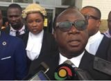 'CHRAJ application incompetent' – Freddie Blay shows up in court