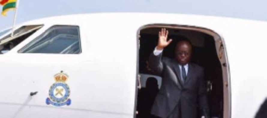 Akufo-Addo rented private jet to watch UEFA Champions League final in Spain