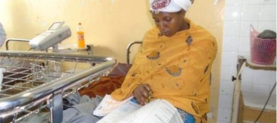 Woman gives birth, sits exams 30 minutes later