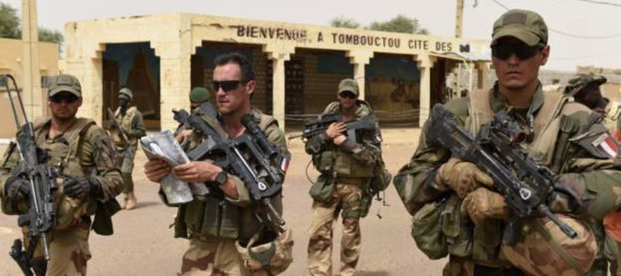 French forces 'kill three' in Mali