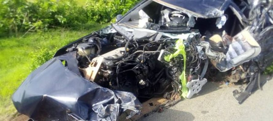Driver in accident involving 4 MDCEs dies in hospital