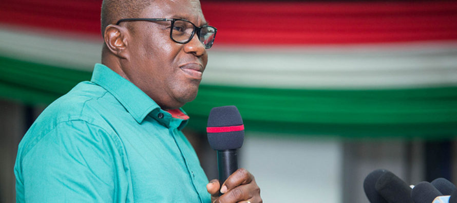 NDC'll open Ho airport if voted into power – Ofosu-Ampofo