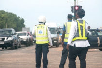 #WAI: Police, Military officers caught breaking traffic laws