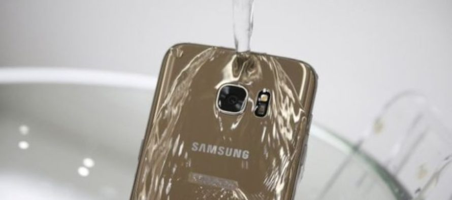 Samsung sued over water-resistant phone claims