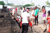 Dream Chasers Leads Clean-up Exercise at Mafi-Kumasi