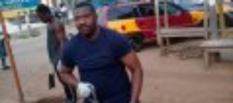 Dumelo enters, cleans Abelenkpe gutters