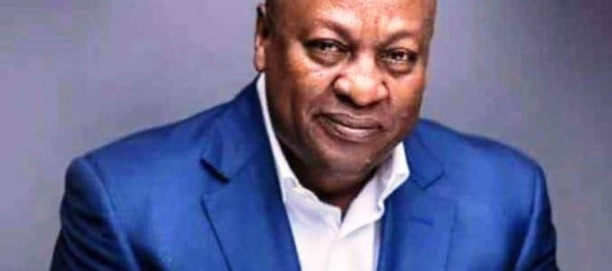 Mahama interacts with public on Facebook today