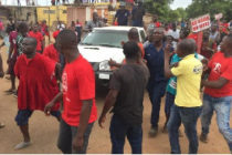 Bad roads: Angry Pokuase residents block MCE