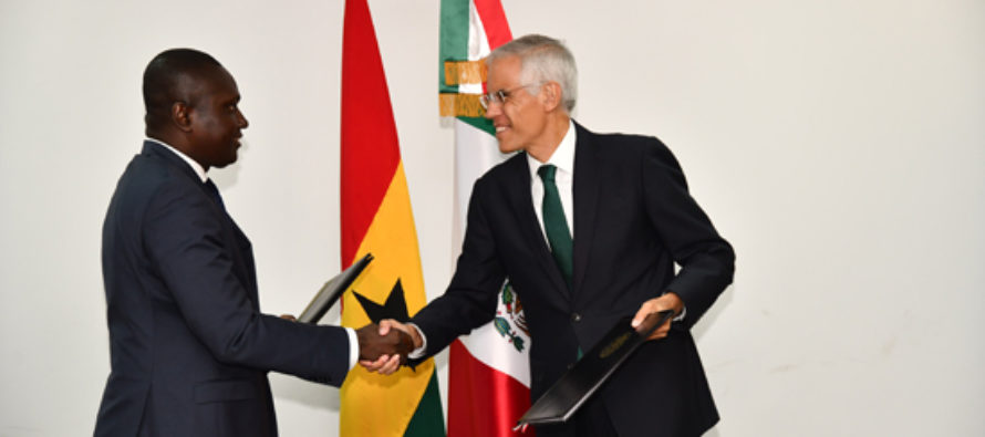 Ghana and Mexico hold bilateral talks in Accra
