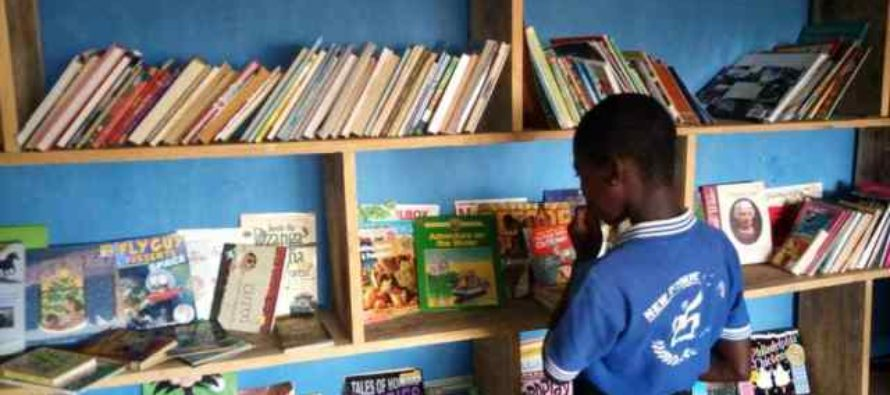 Education NGO Commissions Library at Avatime