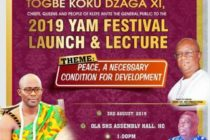 Klefe Yam festival to focus on peace for development