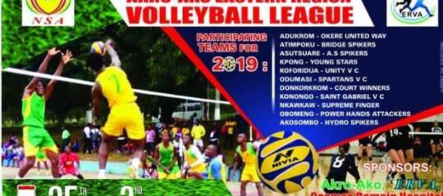 Donkorkrom to host semi-finals of E/R volleyball league