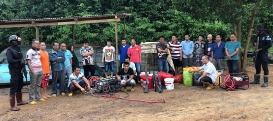 20 Chinese illegal miners arrested at Prestea