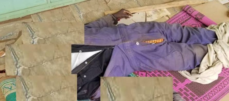 Bizarre: 3 watchmen murdered, tongues and eyes removed Source