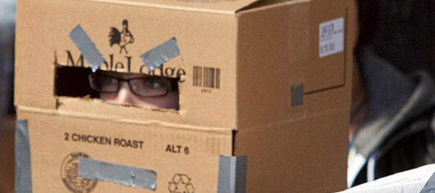 Teacher forces students to wear cardboard boxes to curb exam cheating