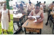 Free SHS: Woman, 51, enrolls at Keta Senior High Technical Sch.