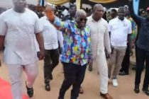 Akufo-Addo gets rousing welcome at Tsito