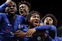Chelsea fight back to draw with nine-man Ajax in eight-goal thriller