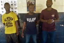 Three men who used church bus for robbery arrested