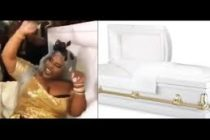 Watch: Bride arrives at her wedding in a coffin