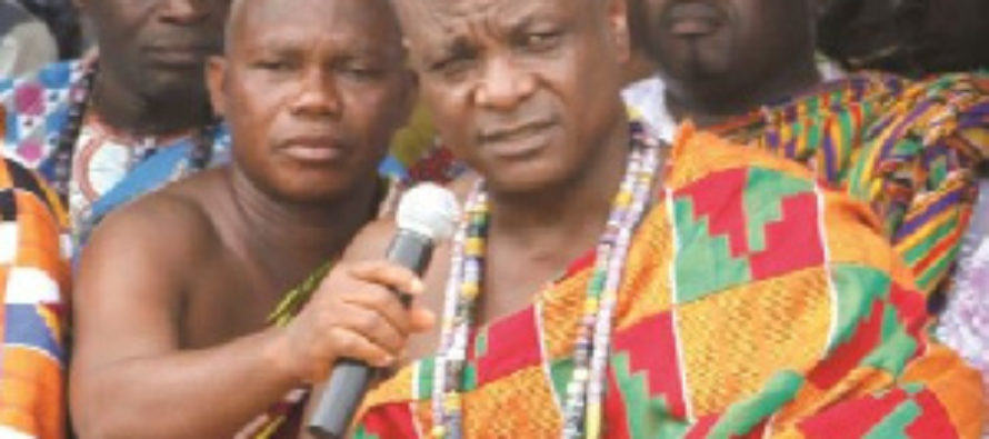Togbe Afede kept away from Farmers' Day at Ho