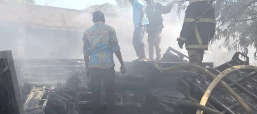 Fire destroys dozens of abandoned SADA tricycles in Wa
