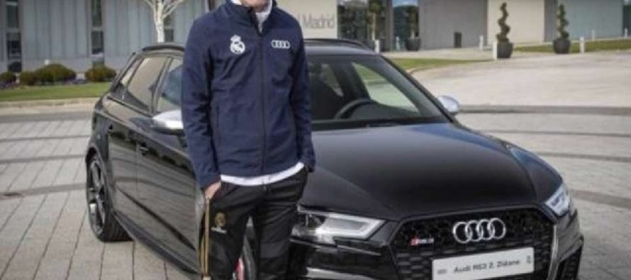 Audi gifts each Real Madrid player a brand new car for Christmas