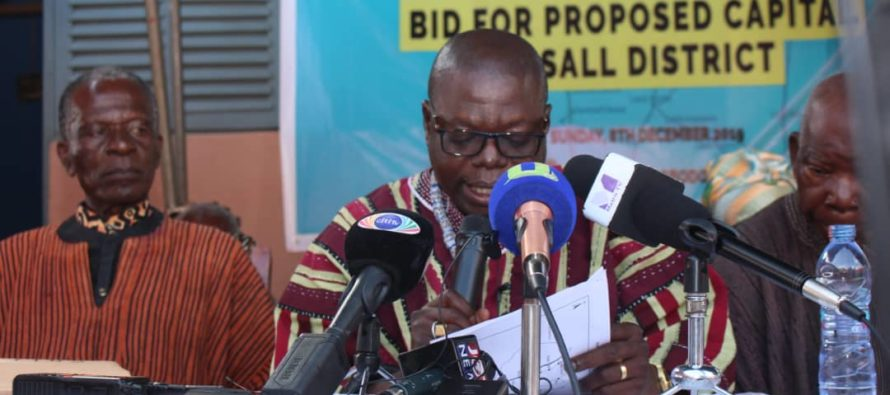 Santrokofi and Akpafu Traditional Councils petition government to situate SALL District capital at Santrokofi Gbodome