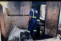 Man dies in fire he set to his father's house