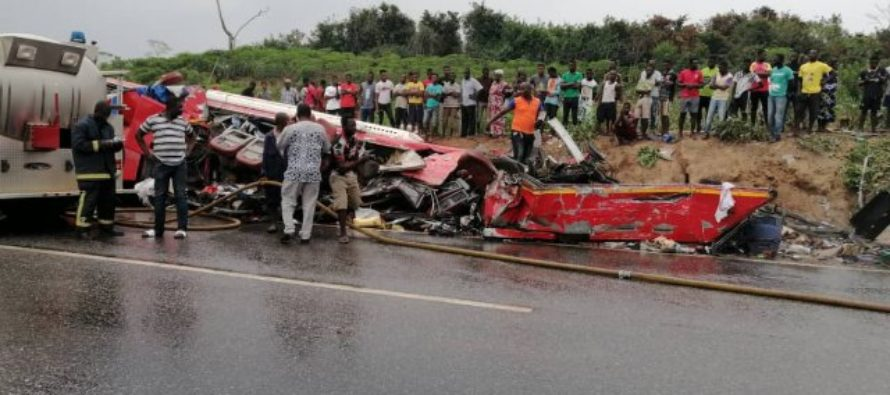 34 dead, several others injured in Cape Coast-Takoradi Highway accident