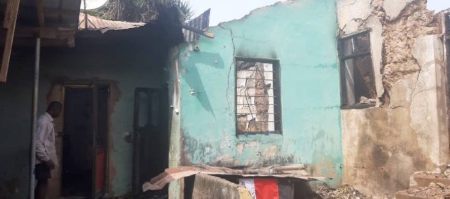 Fire guts 8 rooms, shrine at Anloga