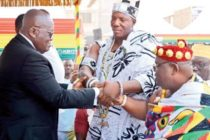 Akufo-Addo's bodyguard enstooled chief of Alajo