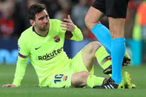 SPORTLaLiga: Barcelona players banned from tackling Messi in training