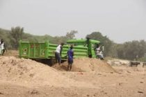 White Volta under siege; sand winners cash in while farmers feel the pinch of Harmattan