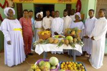 Kpoeta Celestial Church of Christ donates to patients of Hohoe Municipal Hospital