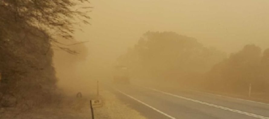 Harmattan'll continue till Sunday, fire outbreaks likely – Meteo